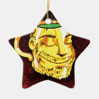 tea cup ceramic ornament