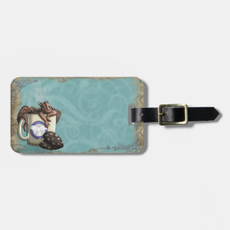 [Tea Cup Dragon] Mocha Luggage Tag