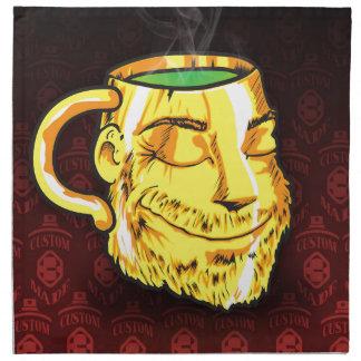 tea cup napkin
