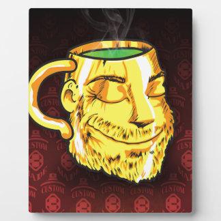 tea cup plaque
