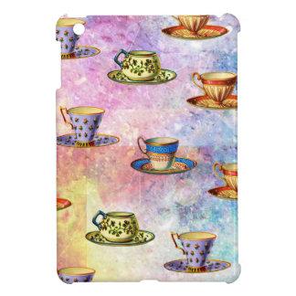 TEA CUPS PATTERN iPad MINI CASE