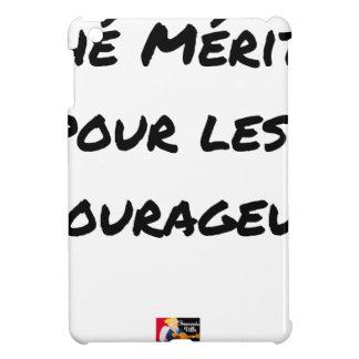 TEA DESERVED FOR the COURAGEOUS ones - Word games iPad Mini Cover