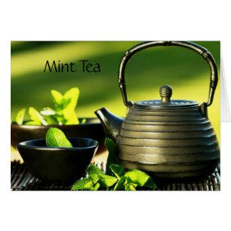 Tea Drinker Note Card