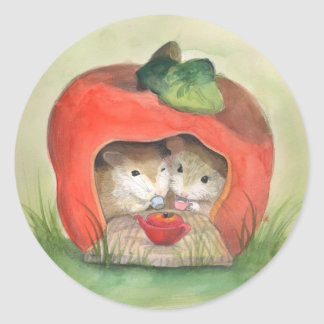 Tea For Two Hamster Stickers