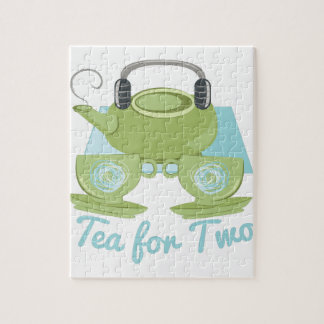 Tea For Two Jigsaw Puzzle