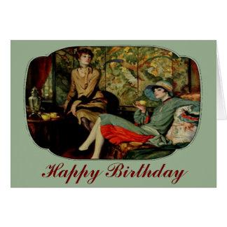 Tea for Two Twenties Birthday card
