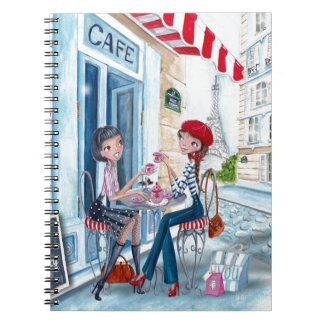 Tea in Paris Girls | Notebook