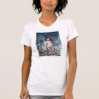 Tea in the Parlour steampunk mermaid t-shirt