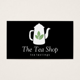 Tea Leaf   Teapot Business Card
