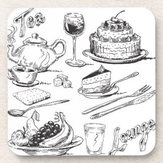 Tea Lounge Coaster