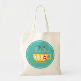 TEA - Love In A Cup Tote Bag