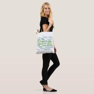 Tea Lover-Text Design Tote Bag