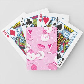 Tea mice bicycle playing cards