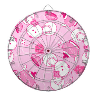 Tea mice dartboard