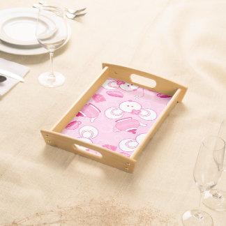 Tea mice serving tray