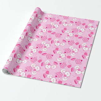 Tea mice wrapping paper