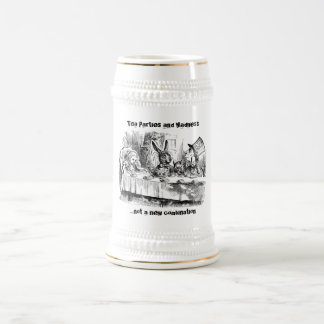 Tea Parties & Madness Beer Stein