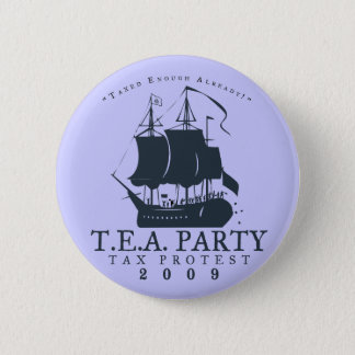 Tea Party 2009 2 Inch Round Button