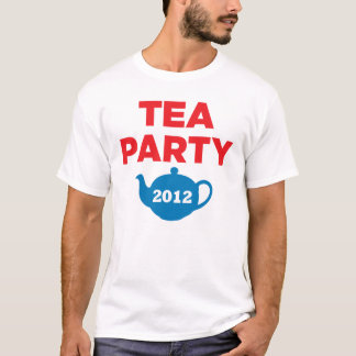 Tea Party 2012 Republicans GOP T-Shirt