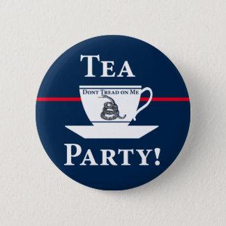 Tea Party! 2 Inch Round Button