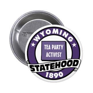 TEA PARTY ACTIVIST 2 INCH ROUND BUTTON