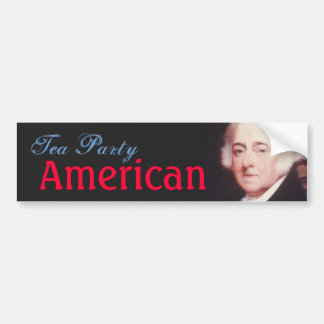 Tea Party American Bumper Sticker