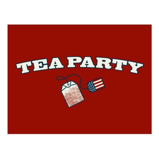 Tea Party Arc Postcard