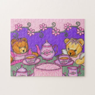 Tea Party Bears Puzzle