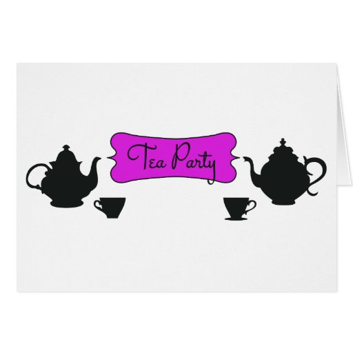 Tea party cards