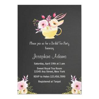 Bridal Shower Tea Party Invitations Announcements Zazzle Canada