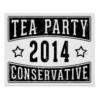 Tea Party Conservative Print