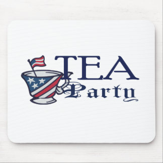 Tea Party Flag Political Protest Mouse Pad