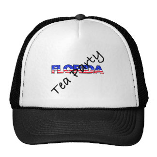 TEA PARTY FOR FLORIDA TRUCKER HAT