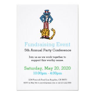 Tea Party Fundraising Event Invitation