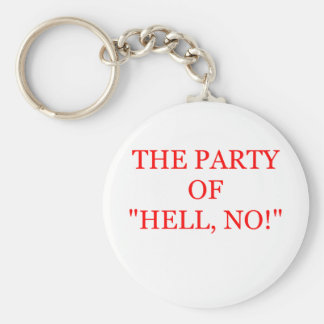 tea party keychain