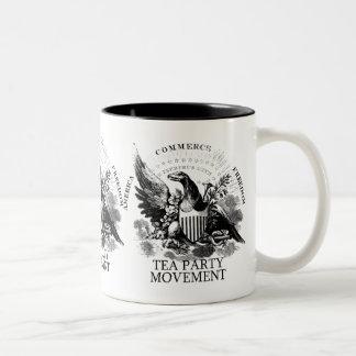 TEA PARTY MOVEMENT Two-Tone COFFEE MUG
