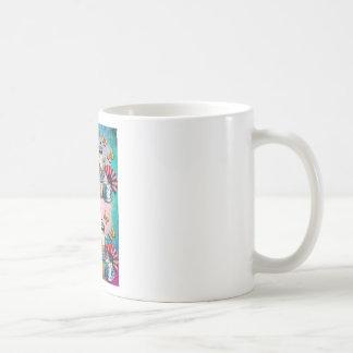 TEA PARTY PATTERN COFFEE MUG