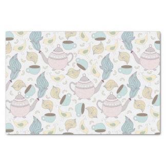 Tea Party Pattern Tissue Paper
