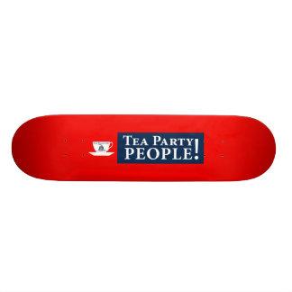 Tea Party People! Skate Board