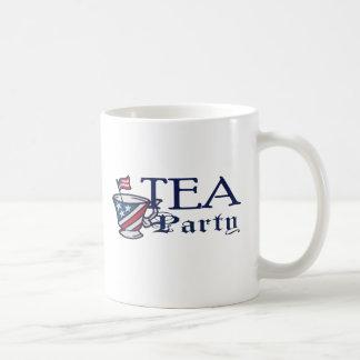Tea Party Political Patriotic Flag Classic White Coffee Mug