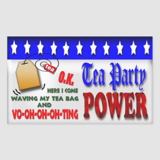 Tea Party Power Sticker