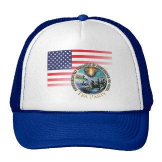 Tea Party Rebellion Hat