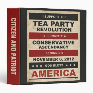 Tea Party Revolution Binder