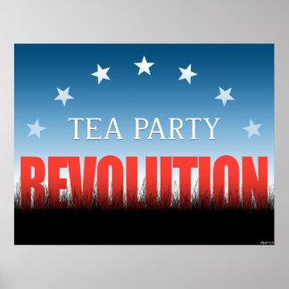 Tea Party Revolution Poster