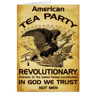 Tea Party Revolutionary Card