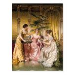 Tea Party - Soulacroix Postcard