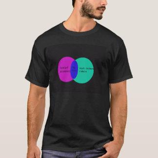 Tea Party Venn diagra T-Shirt