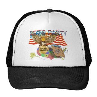 Tea-Party-Version-1 Trucker Hat