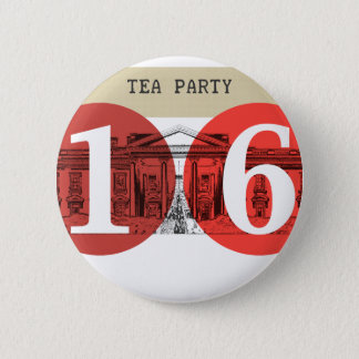 Tea Party White House 2016 2 Inch Round Button
