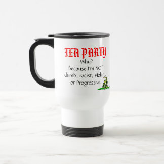 Tea Party, Why? Travel Mug